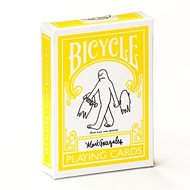 """Image of """"MARK GONZALES GONZ"""" BICYCLE PLAYING CARDS"""