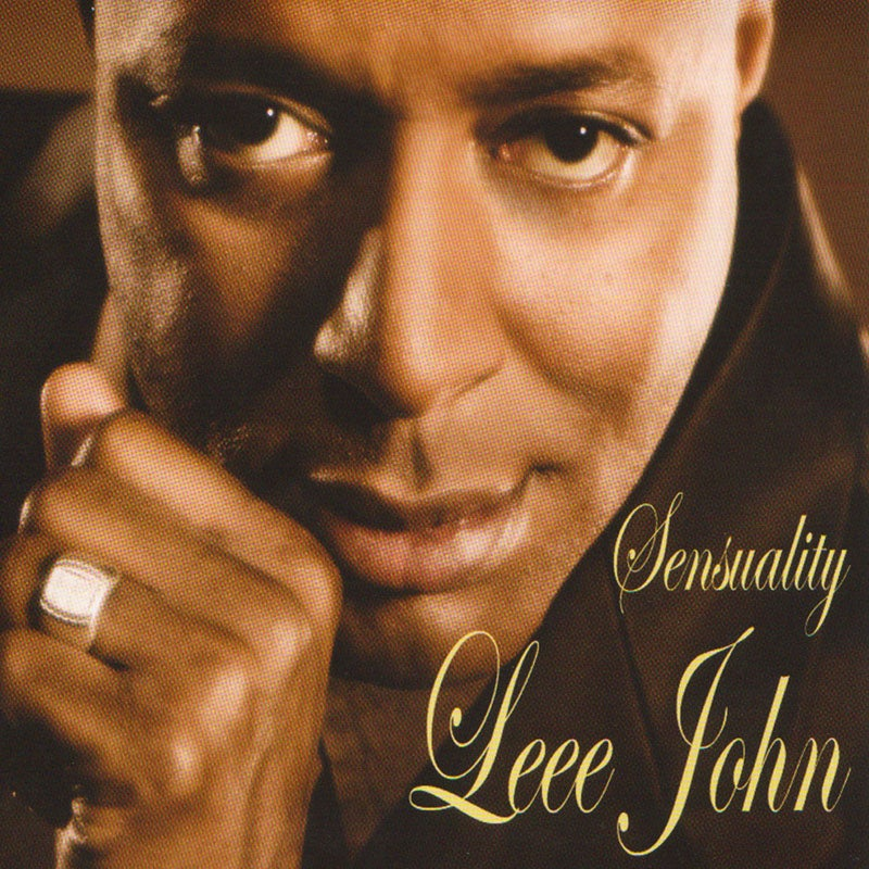 Image of Sensuality - Leee John. CD & DVD Package