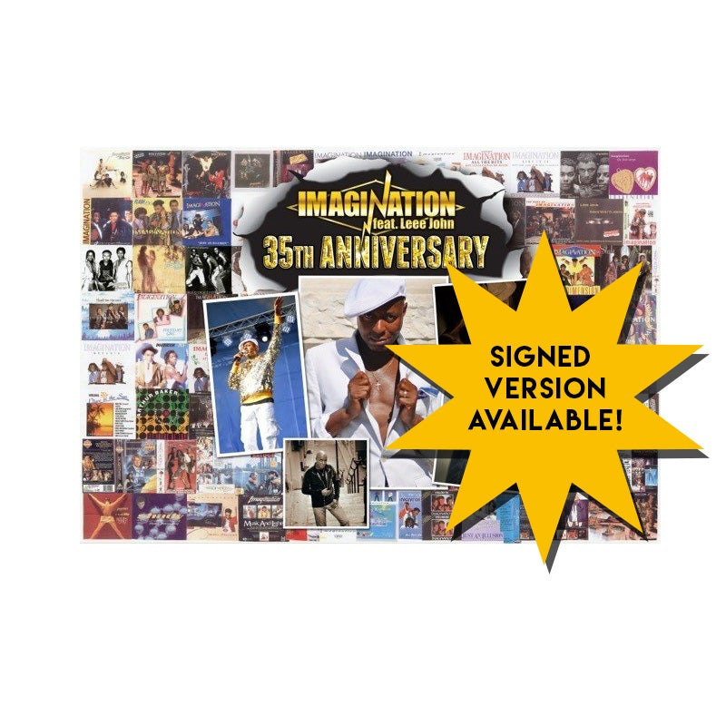 Image of 35th Anniversary Imagination Ft. Leee John Large Poster