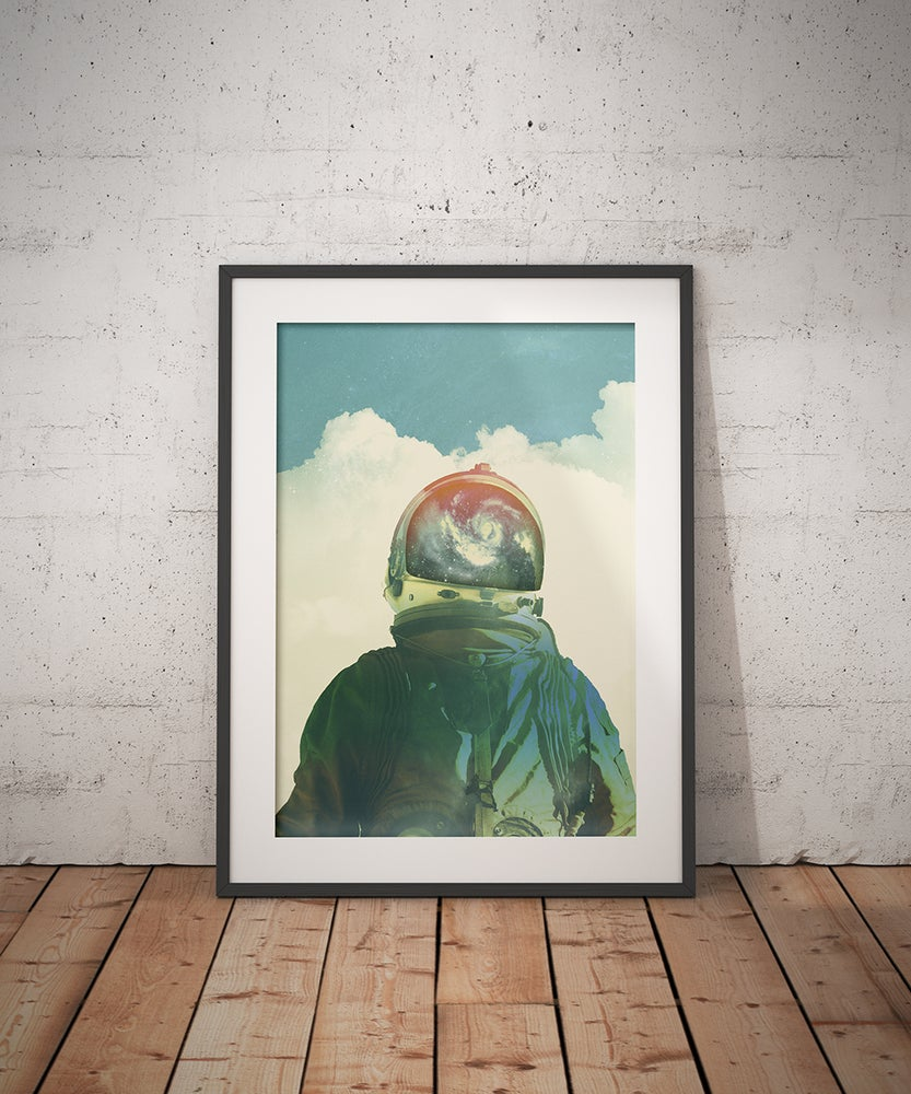 Image of God is an astronaut