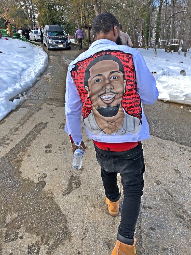 """Image of Hand painted """"PORTRAIT JACKET"""""""