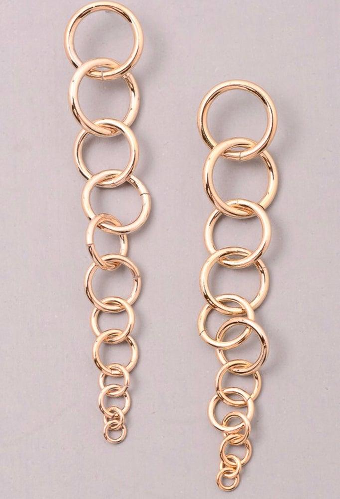 """Image of """"Loopy"""" earrings"""