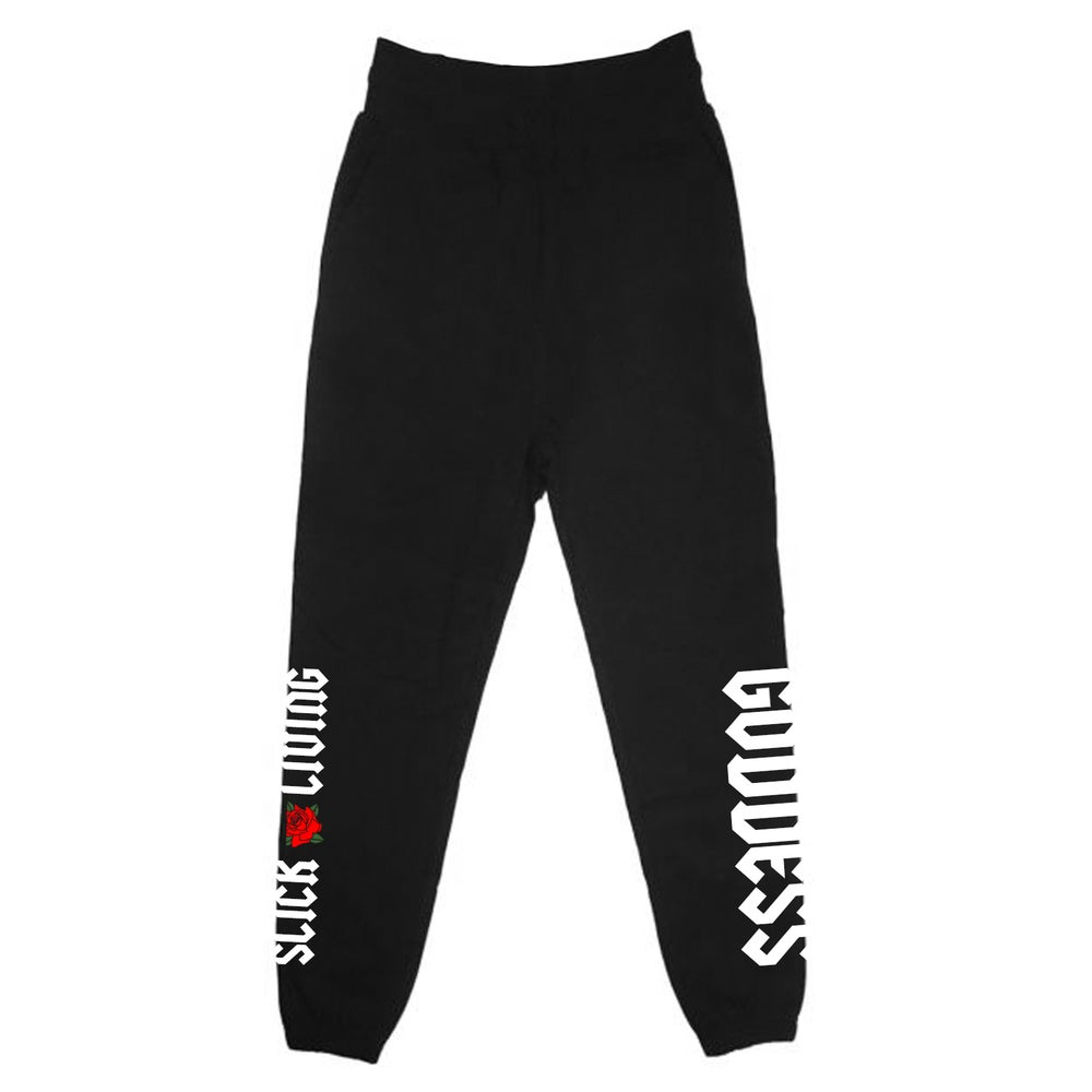 Image of GLAM GODDESS JOGGER SWEAT PANTS   EXCLUSIVE RELEASE