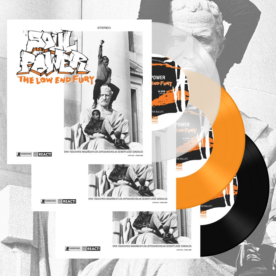 """Image of Soul Power  """"The Low End Fury"""" 7"""" *Pre-Order*"""