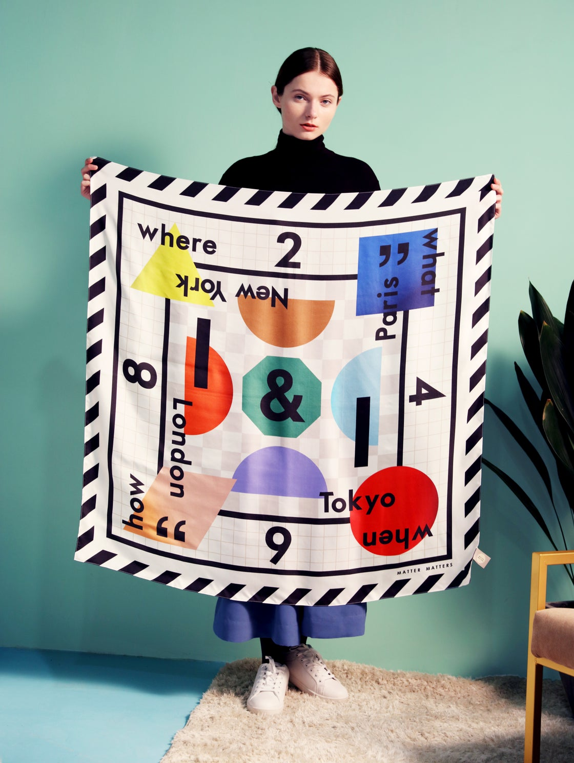 Image of Matter Matters Location SQUARE SCARF