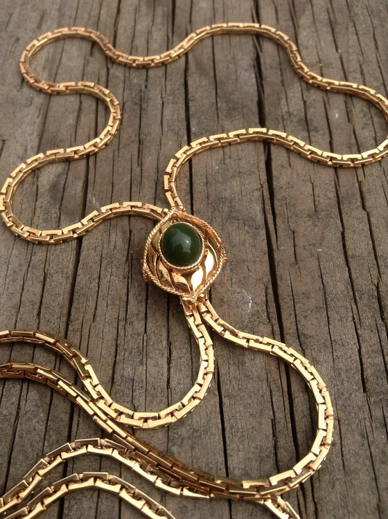 Image of 70's Sarah Coventry Slider Necklace