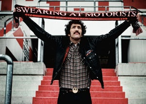 "Image of Swearing At Motorists ""Supporters Scarf"""
