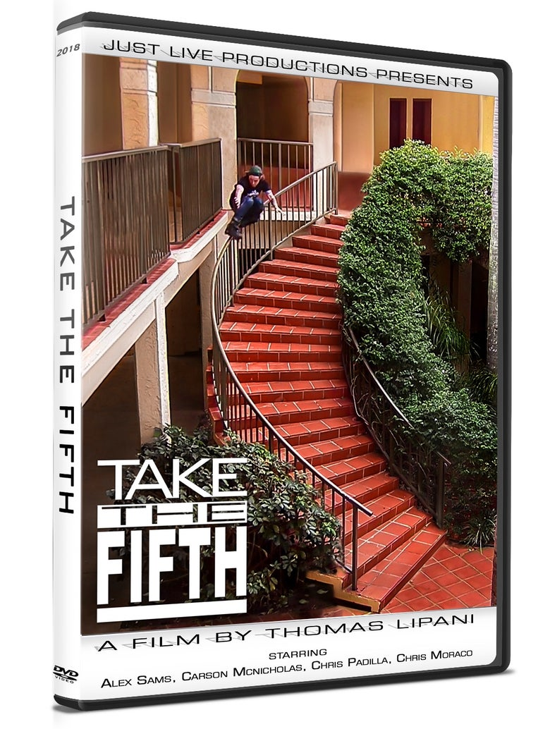 Image of TAKE THE FIFTH 2018 DVD