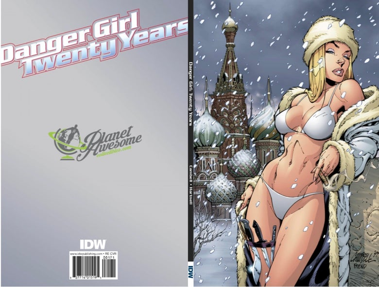 Image of Danger Girl 20th Anniversary J Scott Campbell Exclusive Virgin Variant (Pre-Sale)
