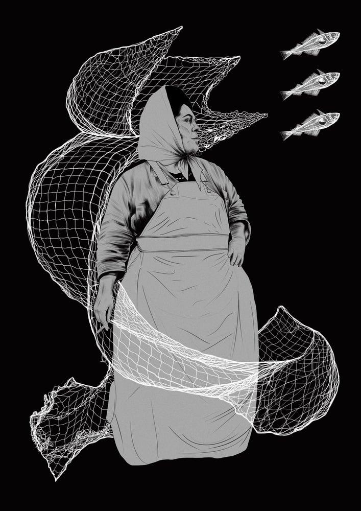 Image of 'Headscarf Revolutionaries' Limited Edition Art Print
