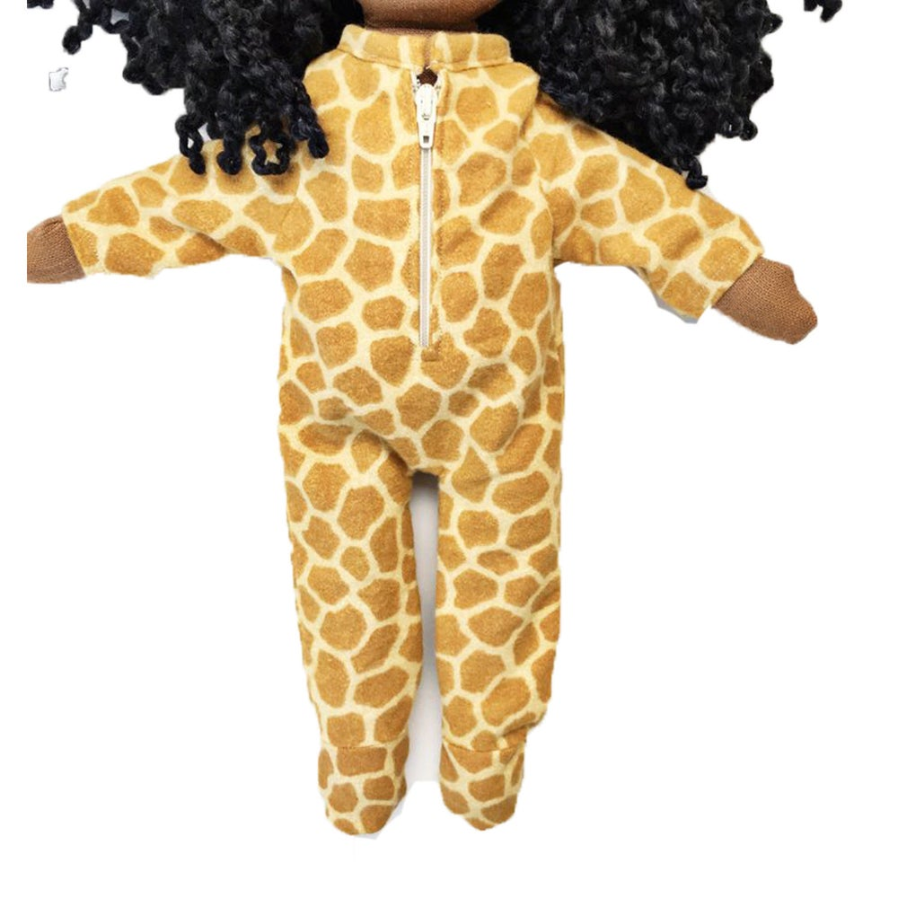Image of Giraffe Onesie - Doll Accessory