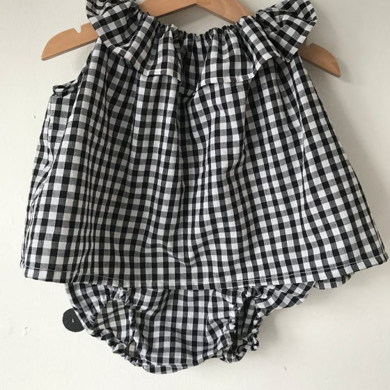 Image of Ruffle tunic with matching bloomers