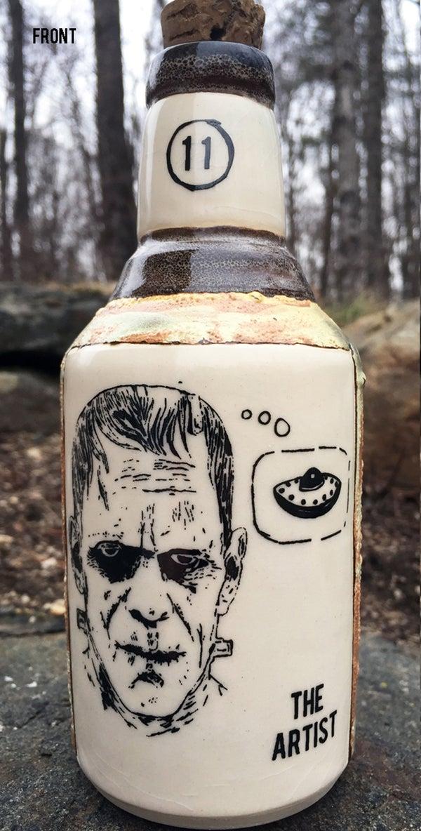 Image of Ceramic Bottle 27 - The Artist