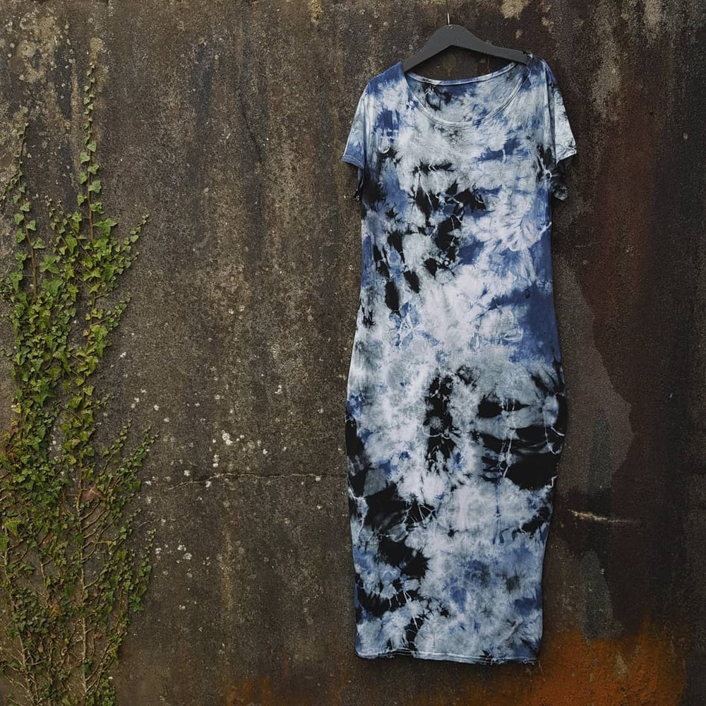 Image of ADULT TIE DYE DRESS