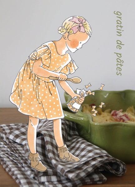 Image of gratin de pâtes