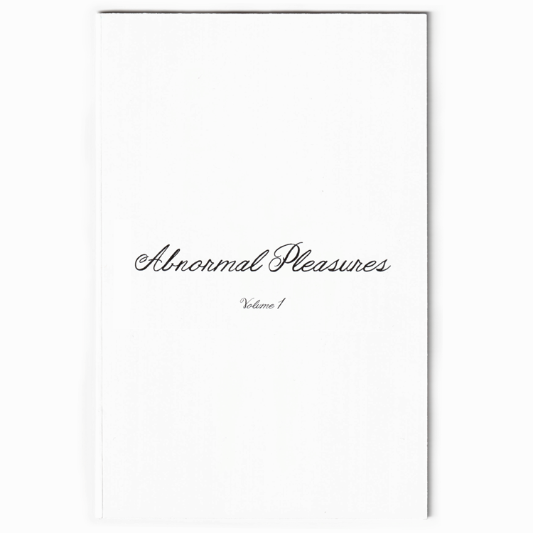 Image of Abnormal Pleasures Art Zine Volume 1
