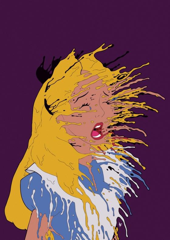 Image of Malice 297mm x 420mm ART PRINT (16/03/18)