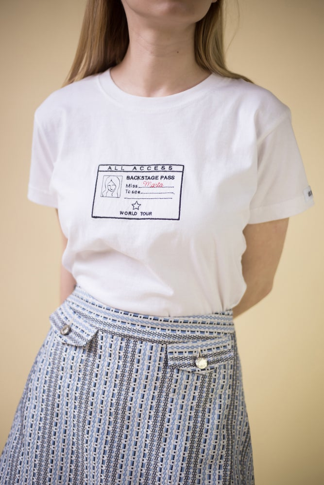 Image of 'Groupie' personalized T-shirt