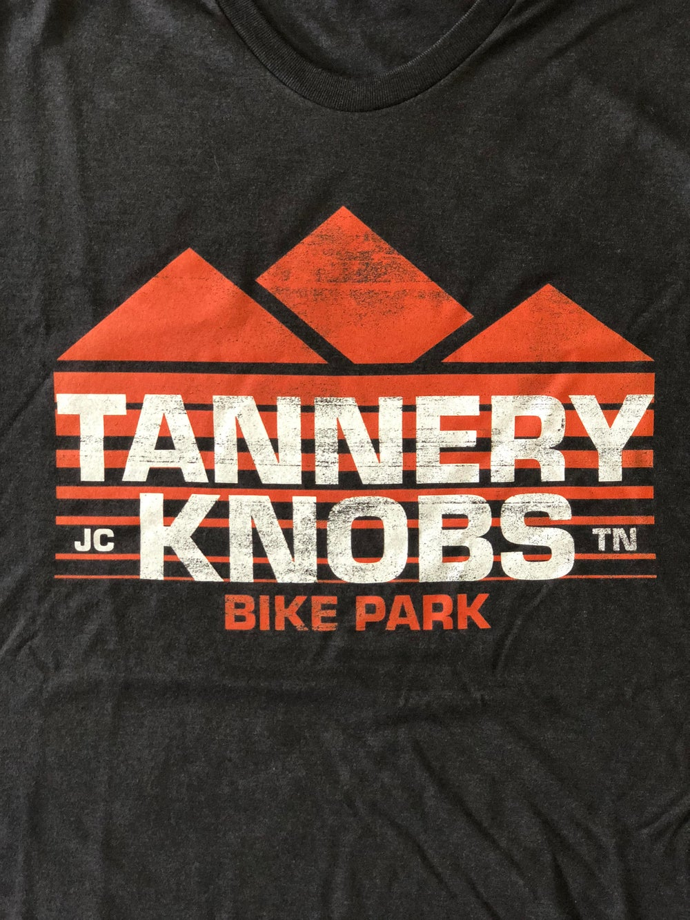 Image of Tannery Knobs Bike Park T-Shirt (Vintage Black)