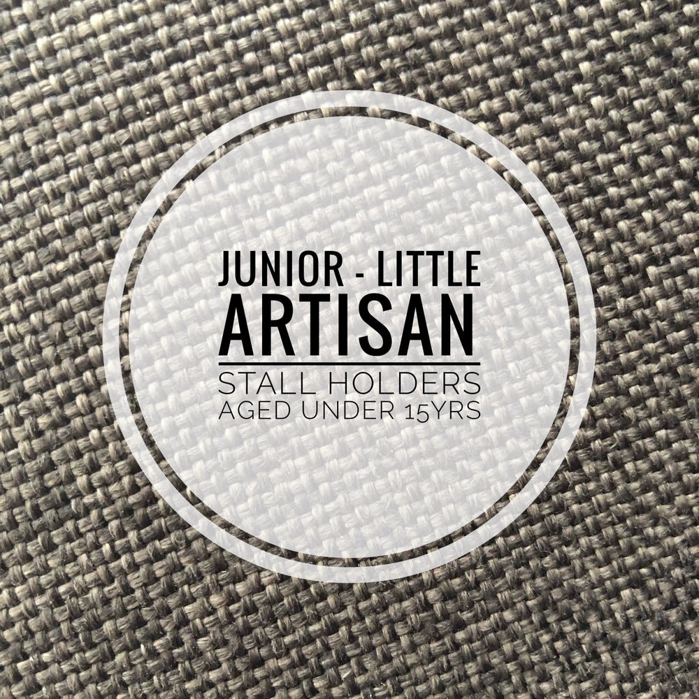 Image of Junior Little Artisan Stall - stall holders aged under 15yrs May 12th