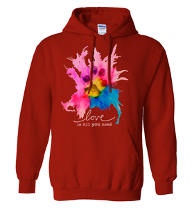 Image of Love Is All You Need Hoodie