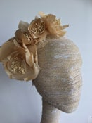 Image of Cream silk flower headpiece