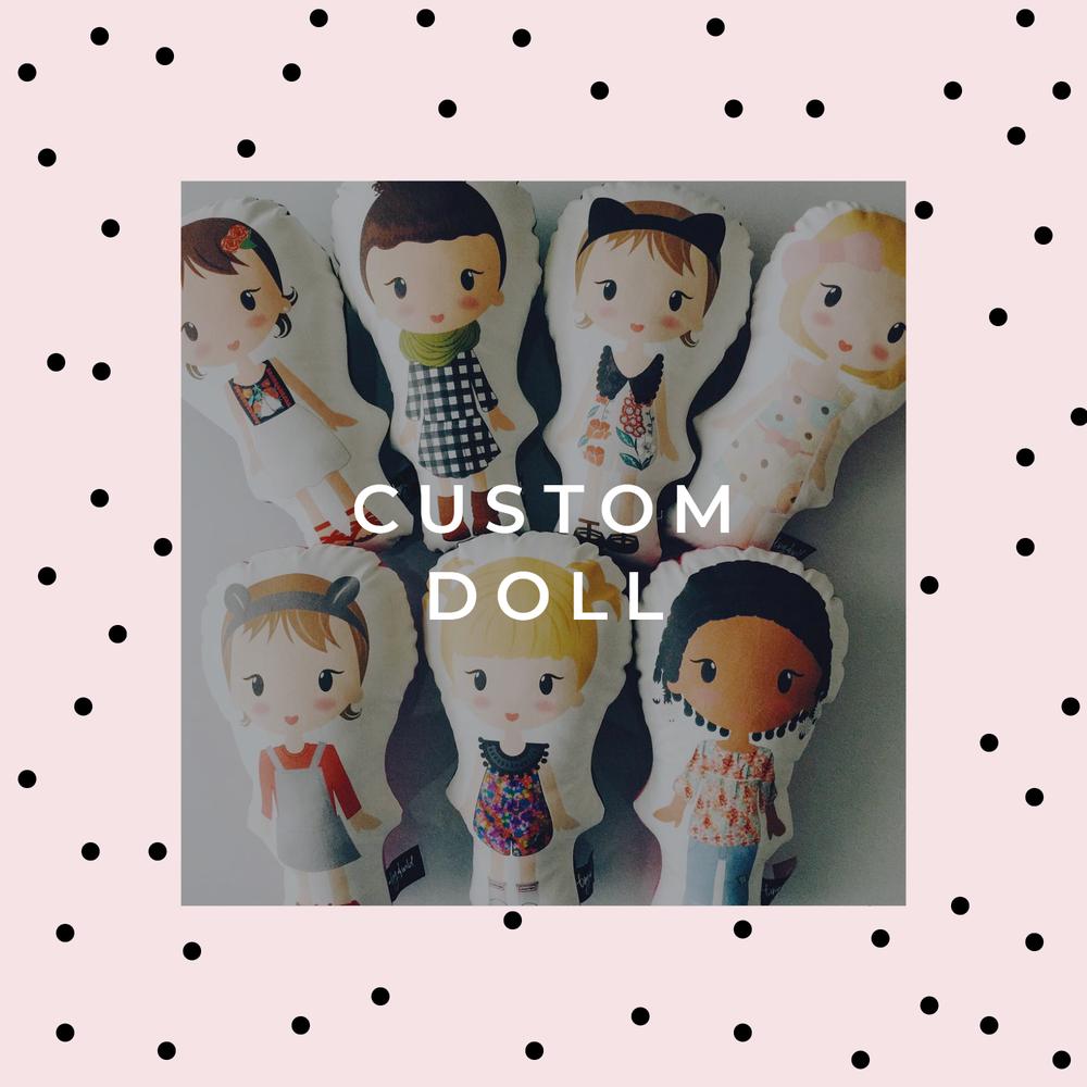 "Image of 13"" Custom Doll"