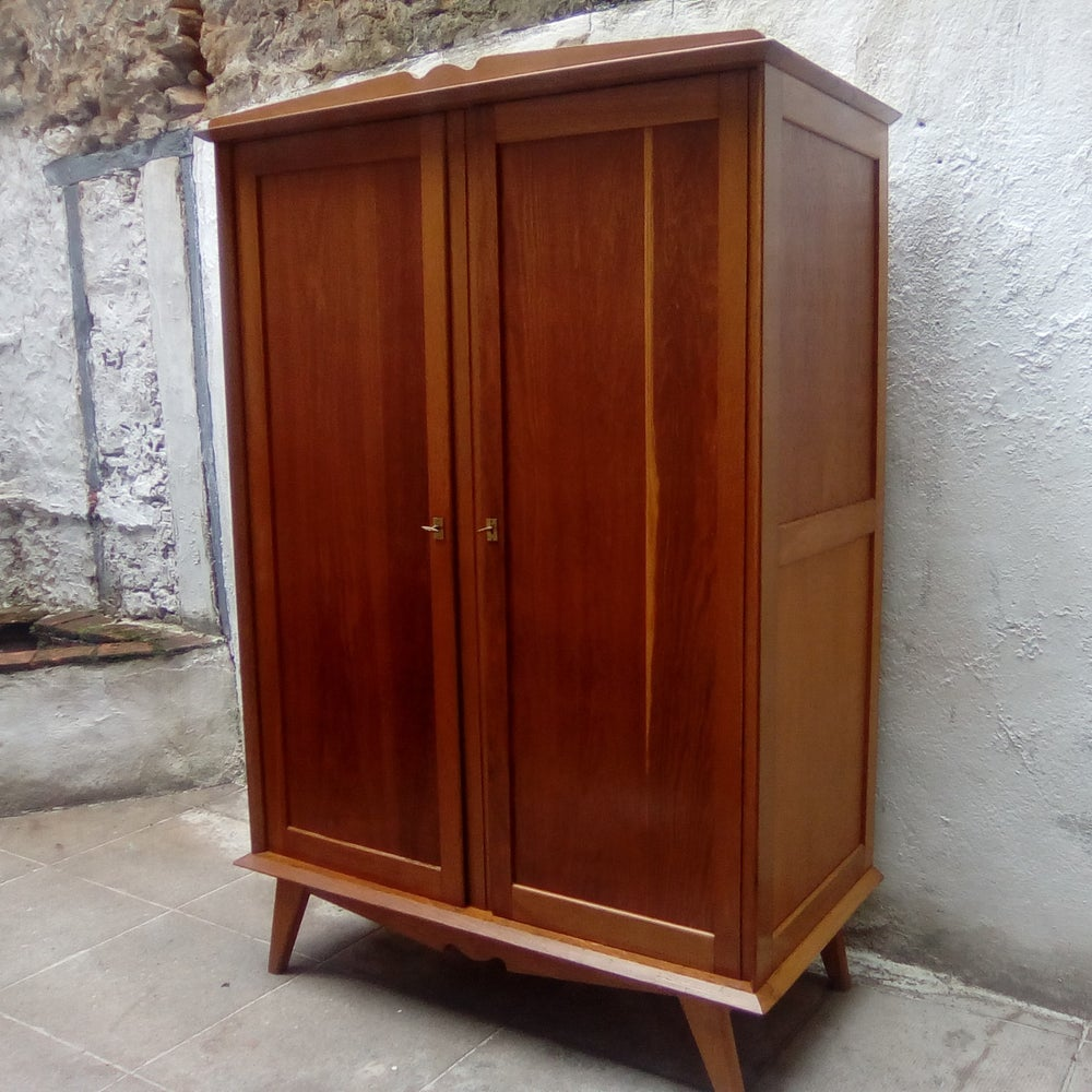 Image of Armoire 1960 - bois naturel