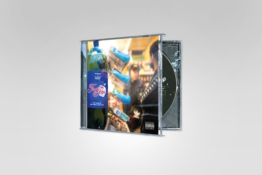 Image of Wundrop & Kemastry - Frosty Raps CD PREORDER
