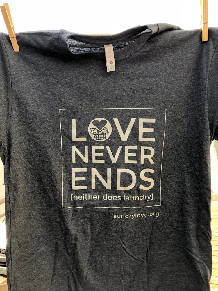 Image of Love Never Ends (neither does laundry)