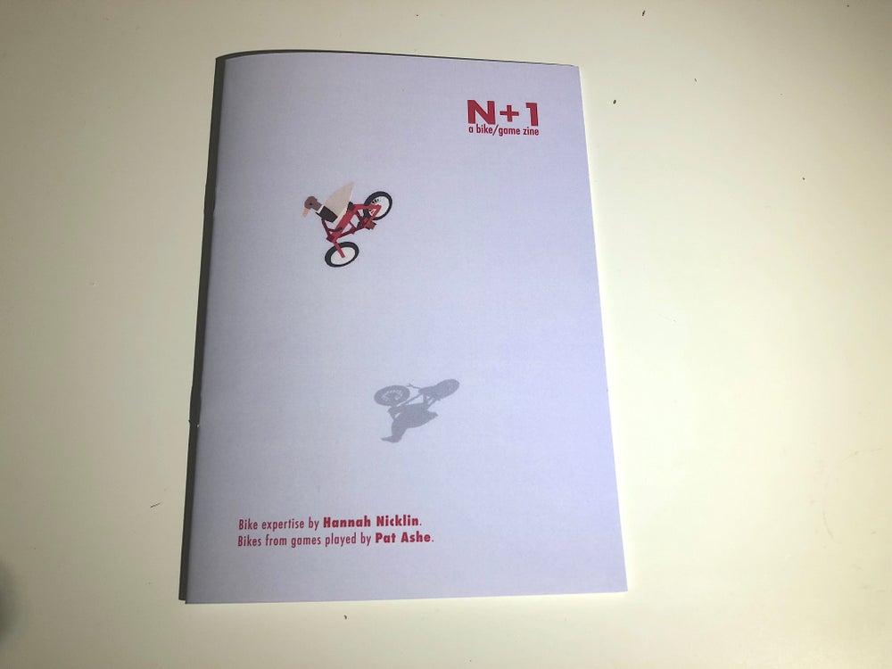 Image of N+1 ~~  a bike/game zine