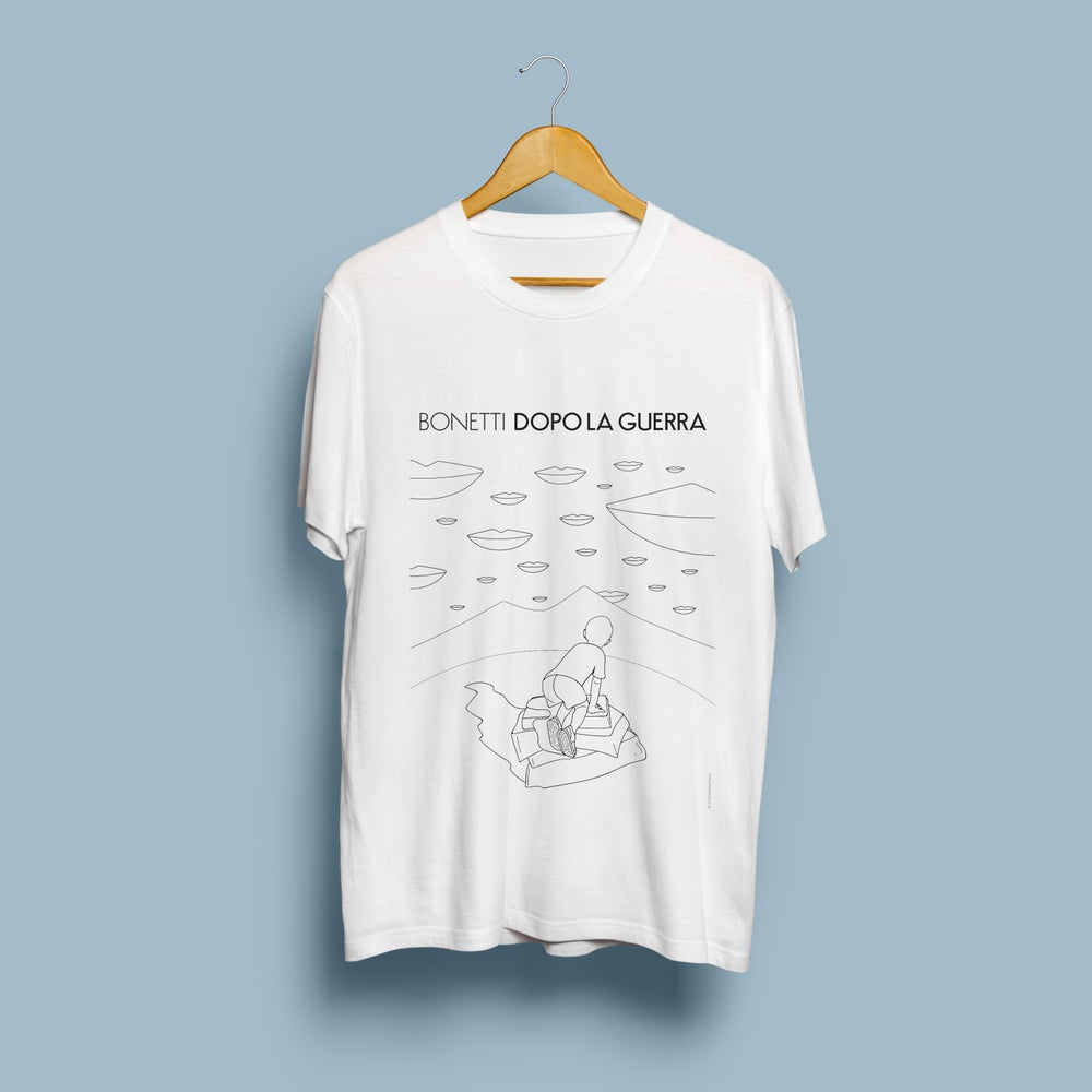 Image of Dopo la Guerra T-shirt (ltd. edition, only 30 pieces) screen-printed by hand