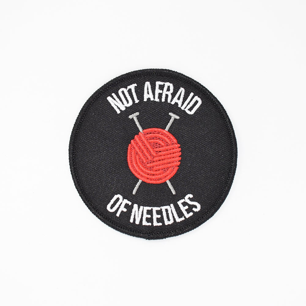 Image of Knitting Needles Patch