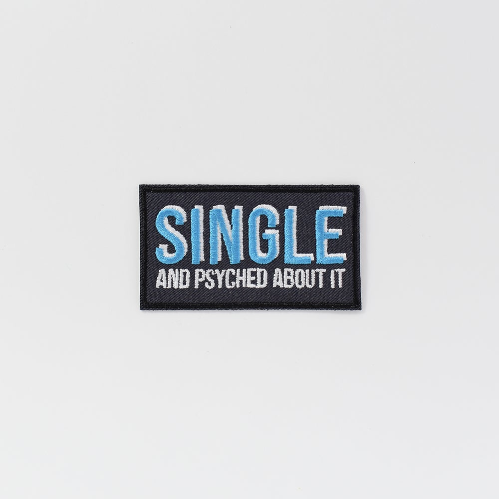 Image of Single and Psyched Patch
