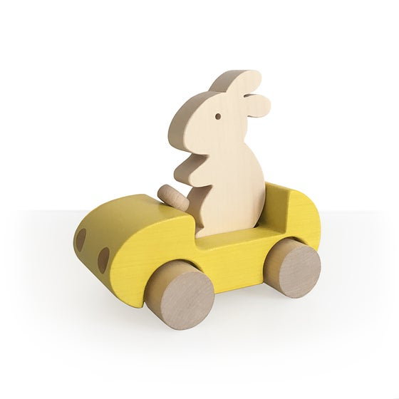 Image of Bunny Car Jaune