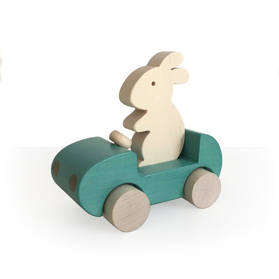 Image of Bunny Car Turquoise