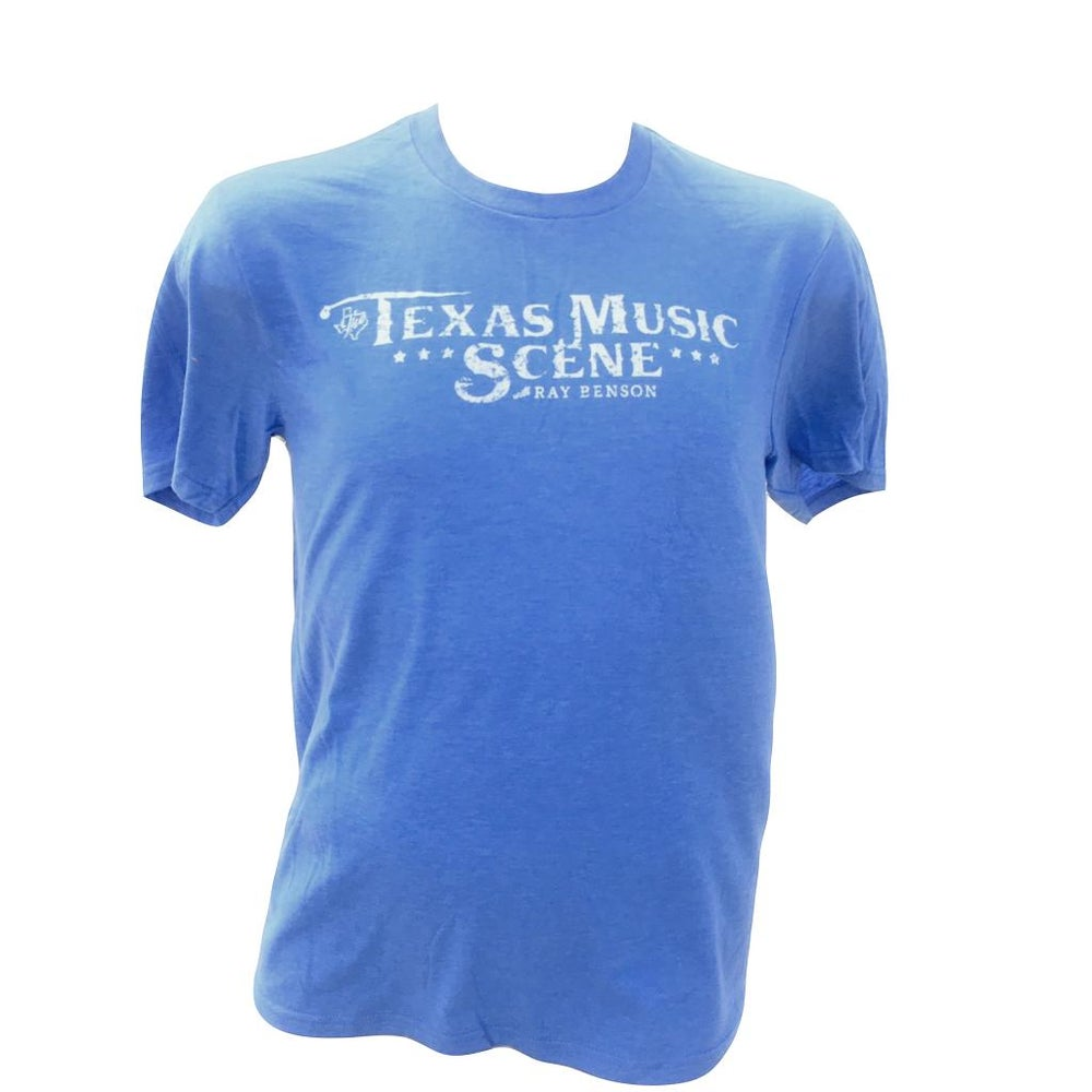 Image of TMS Logo Tee (Heather Blue)