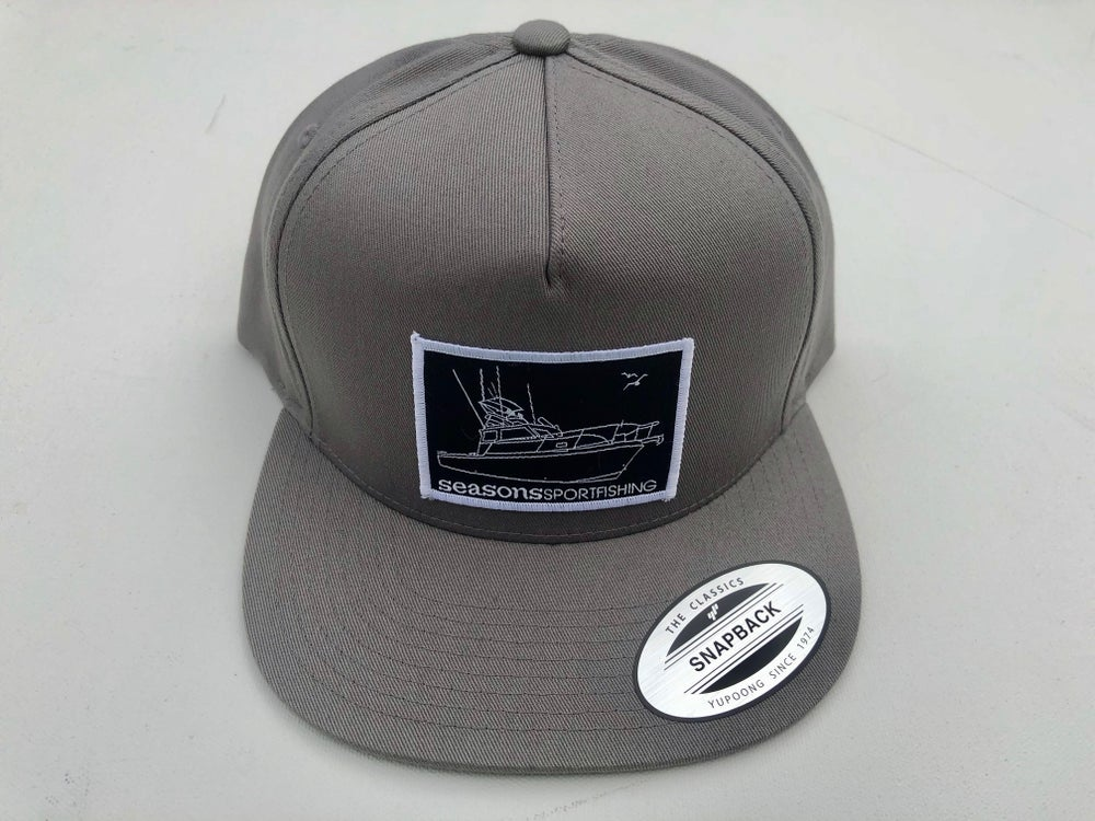 Image of SEASONS GRAY / GRAY SNAP BACK - MOTHERSHIP