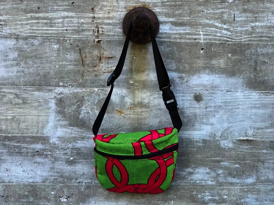 Image of Pink and green Fanny pack