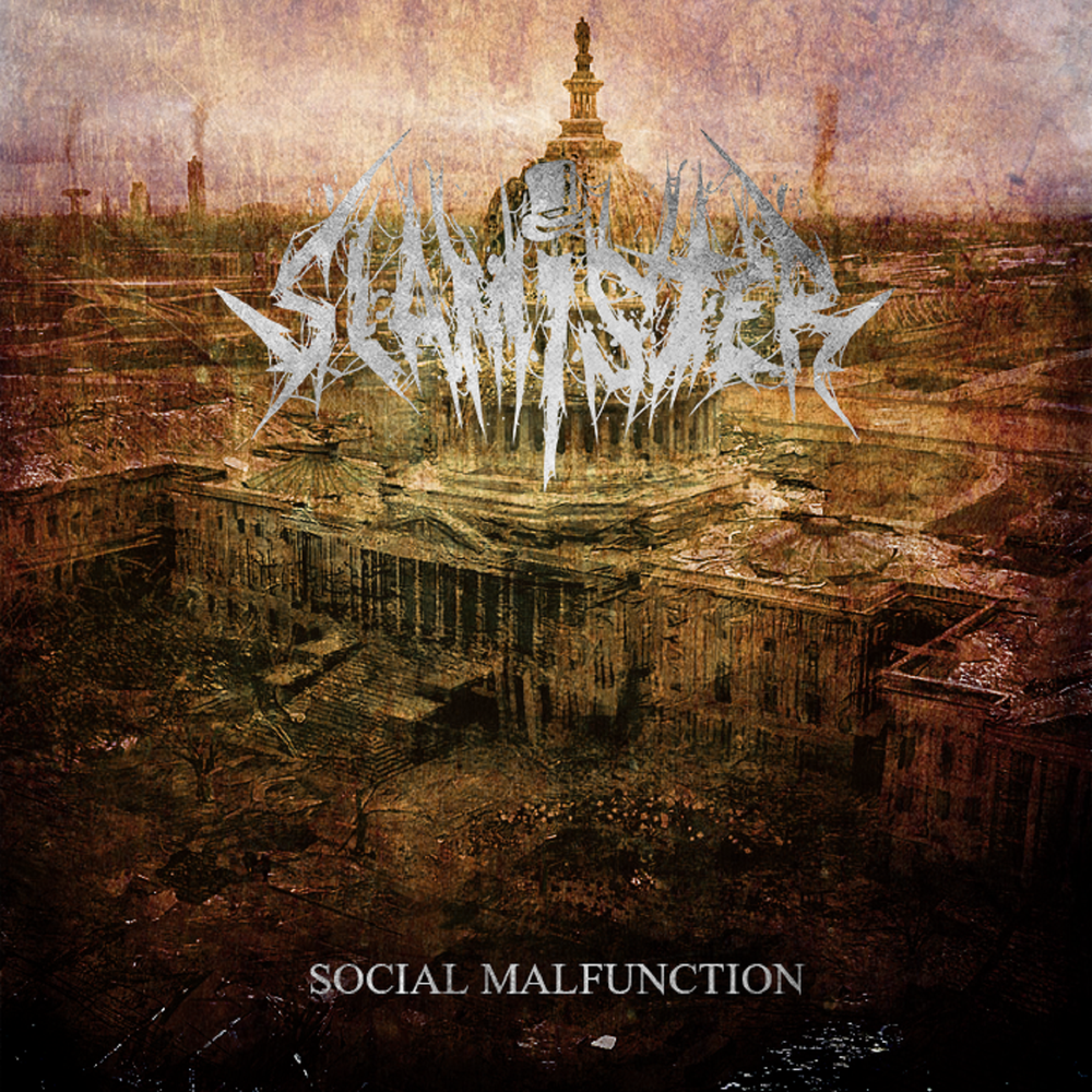 Image of SLAMISTER - Social Malfunction CD [pre-order]