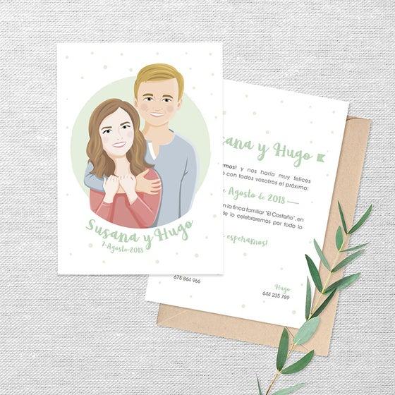 Imagen de Invitación de boda personalizada