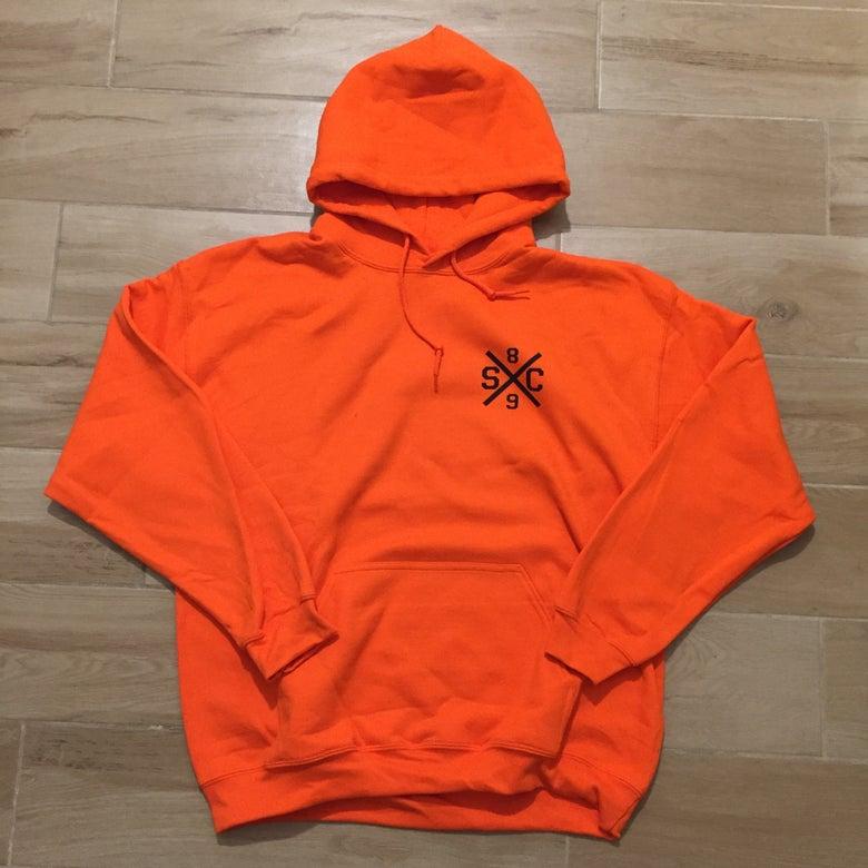 Image of Fighting Irish Hoodie Orange