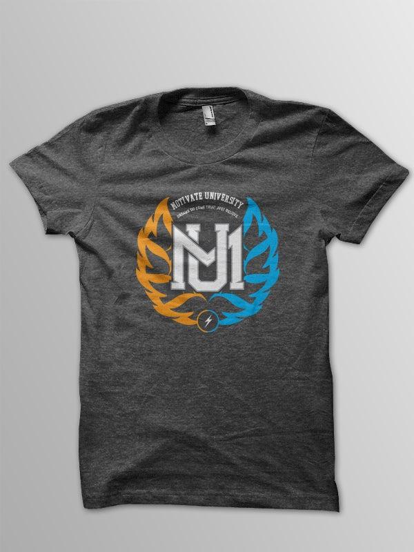 Image of Motivate University T-shirt (Grey)