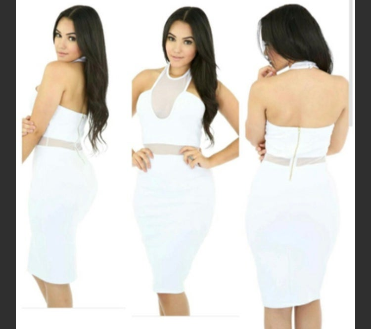 Image of Coke white dress
