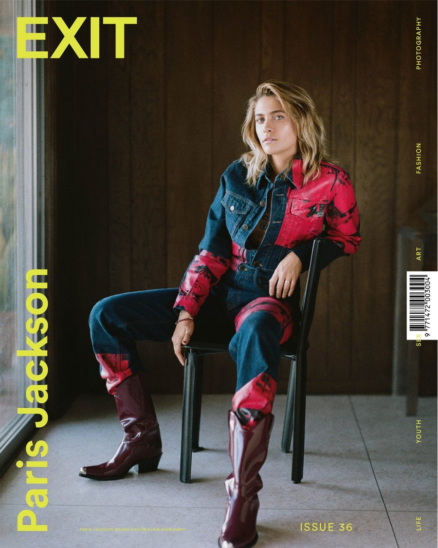 Image of EXIT ISSUE 35 SPRING SUMMER 2018 PARIS JACKSON COVER 1 (PRE-ORDER)