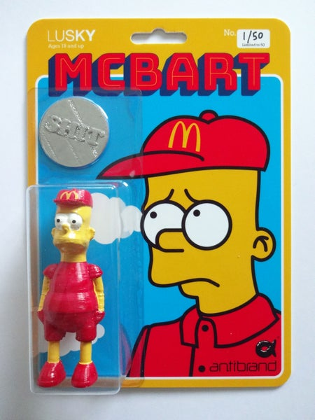 Image of McBart Shit Tip and Toy