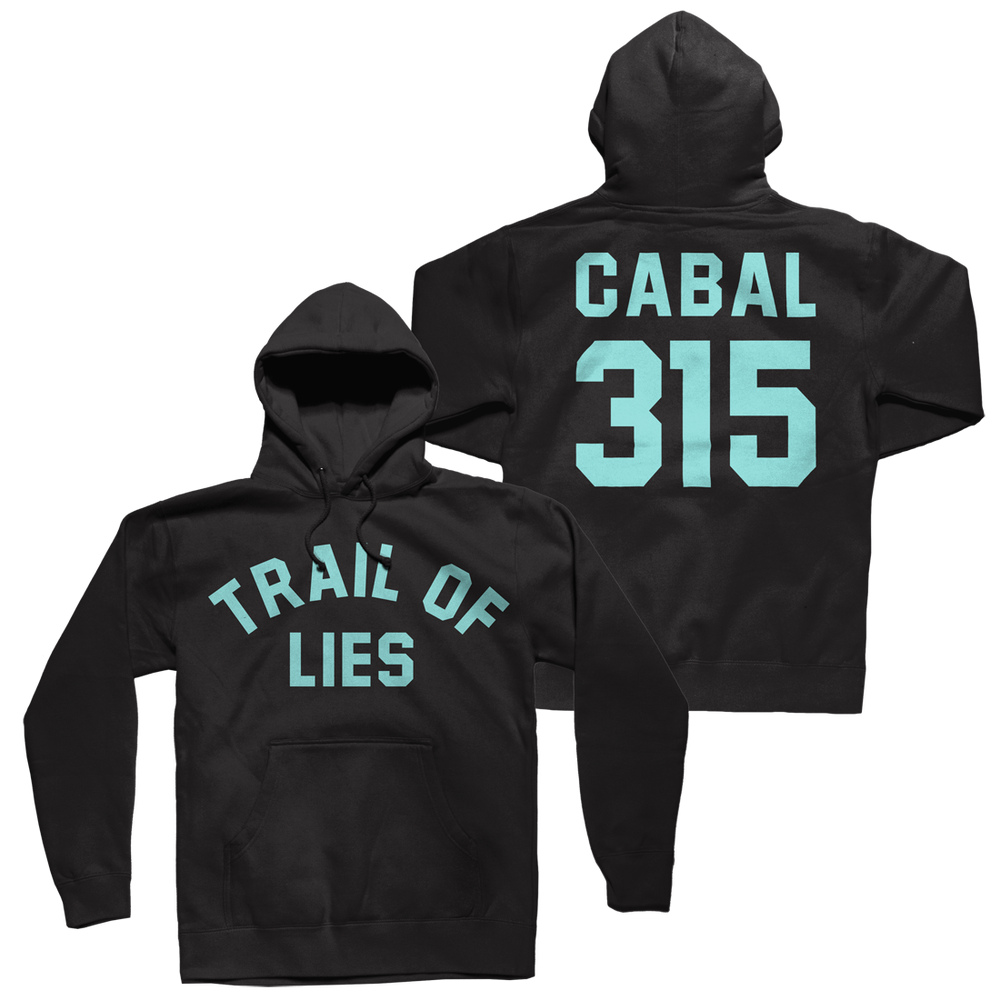 Image of TRAIL OF LIES x CABAL 315 Hoodie