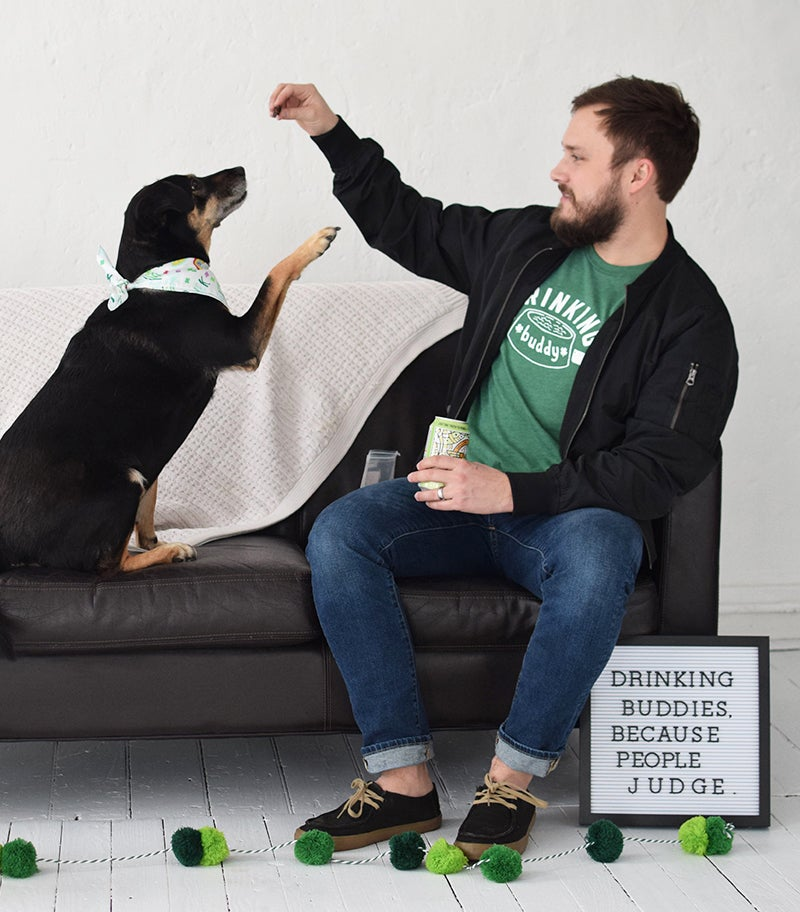 Image of St. Patty's Day Drinking Buddy Tee