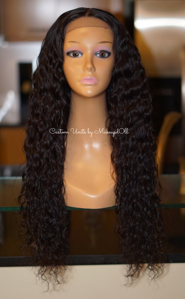 "Image of Cambodian Natural Wave 24"" Custom Wig!"