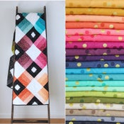 Image of Ombré Lattice jelly roll PRE-ORDER and PDF pattern